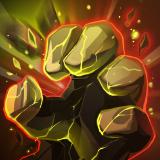 Andvari third skill Stone Grasp